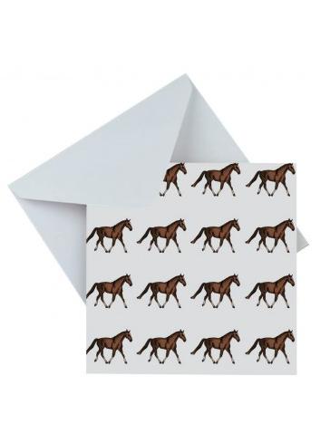 HORSES GREETING CARD 34497...