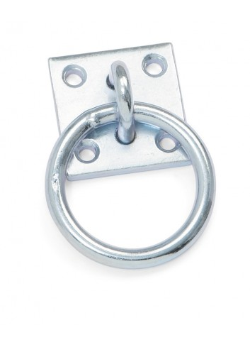 TIE RING WITH PLATE 984 SHIRES