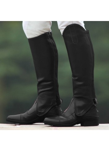 SYNTETIC LEATHER GAITERS...