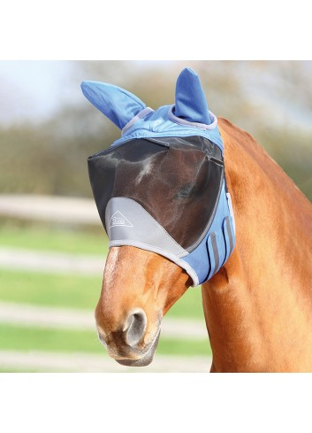 DELUX FLY MASK WITH EARS...