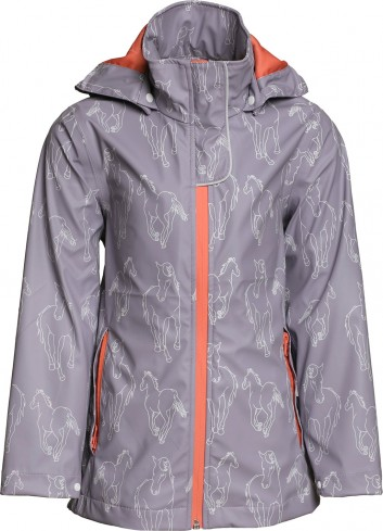 NEW KIDS RAIN JACKET CAHCKF...