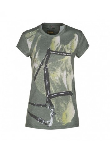 TSHIRT DONNA H00707 EQUILINE