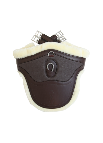SHEEPSKIN STUD GIRTH...