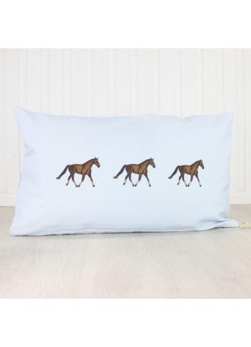 CUSCINO THREE HORSES IN...