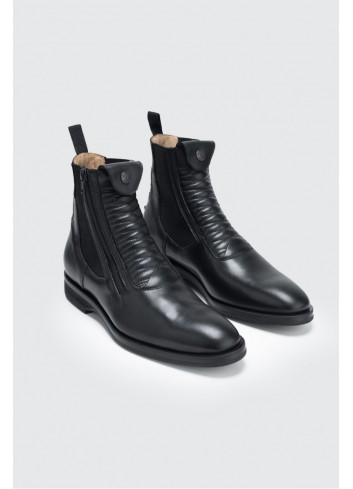 STIVALETTO FRONT ZIPPER AND...