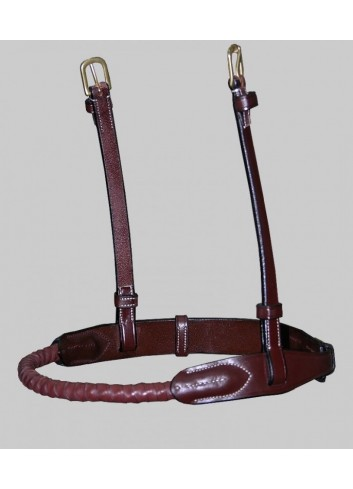 DY ROPE LEATHER COVERED...