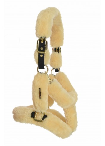 SHEEPSKIN SHIPPING HALTER...